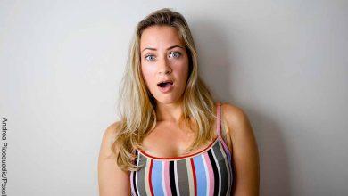 Foto de una mujer sorprendida que revela el sulfato de zinc para qué sirve