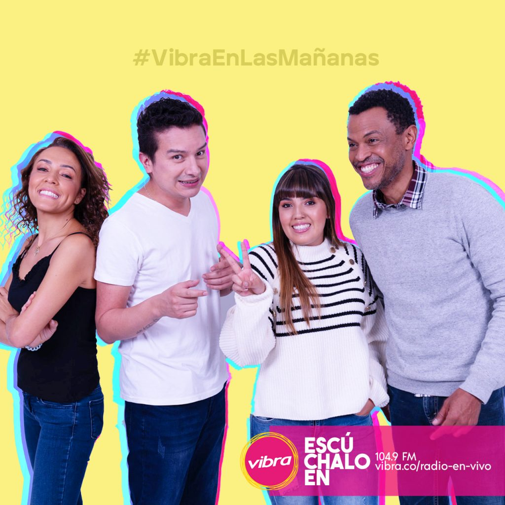 Imagen para promocionar el programa Vibra en las Mañanas