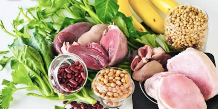 Foto de alimentos con vitamina B6