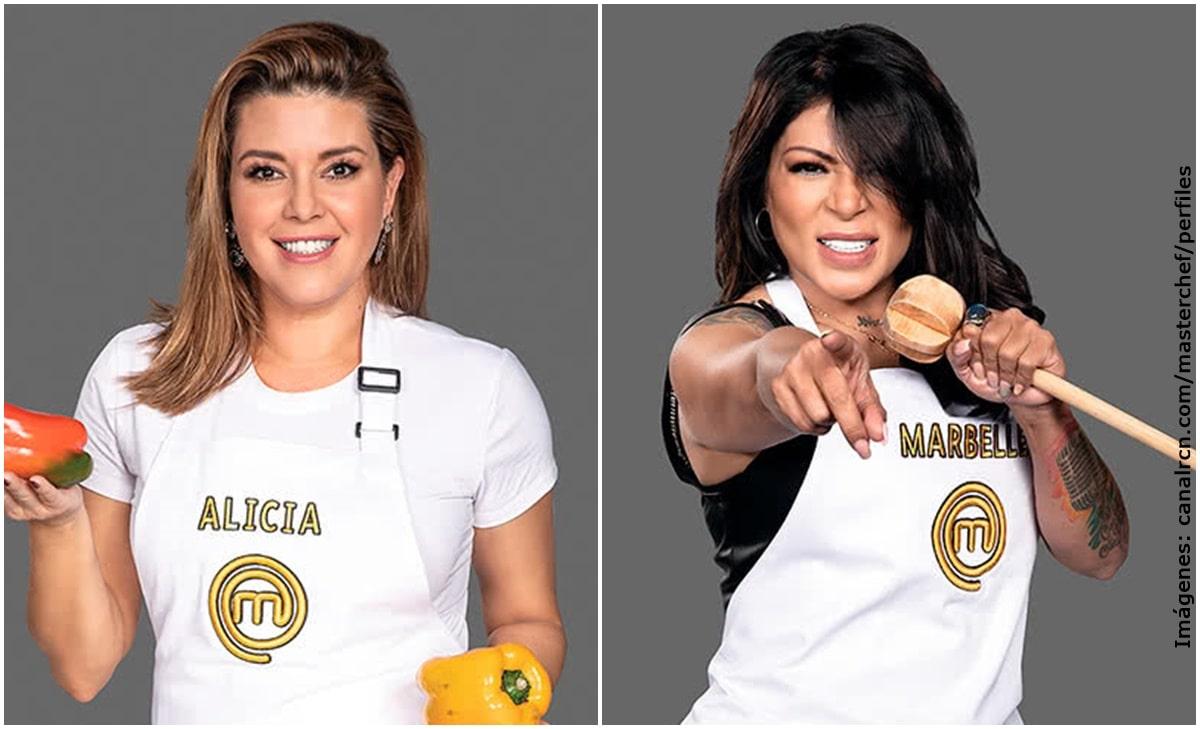 Alicia Machado querría demandar a Marbelle por escándalo de MasterChef