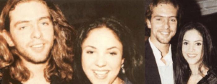 Foto de Shakira con Gustavo Gordillo