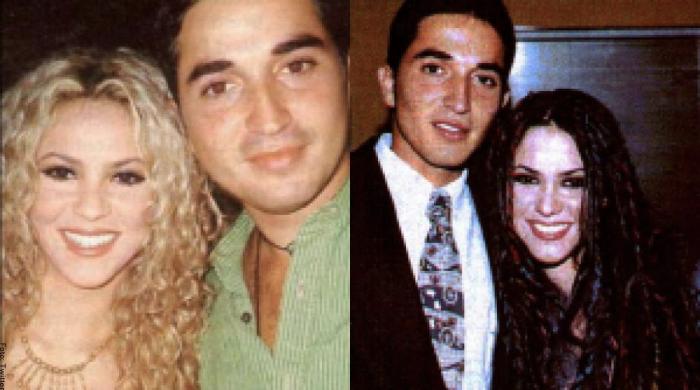 Foto de Shakira con Oscar Pardo