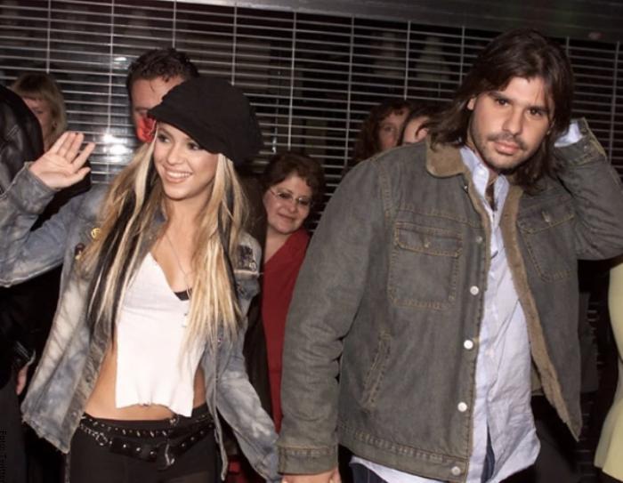 Foto de Shakira con Antonio de la Rúa