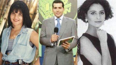 Antes y después de presentadores colombianos