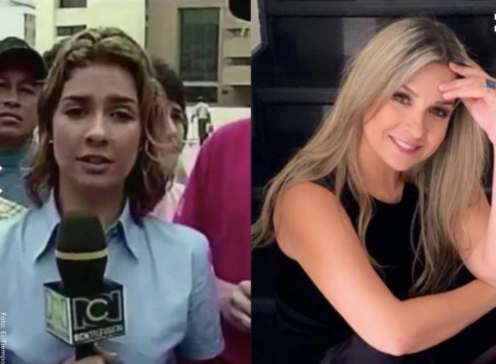 Foto antes y después de Vicky Dávila