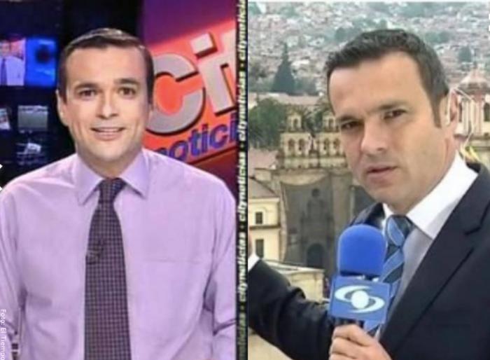 Foto antes y después de Juan Diego Alvira