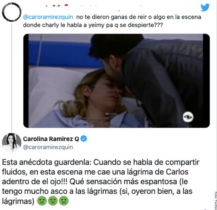 Foto del comentario de Carolina Ramírez sobre Carlos Torres