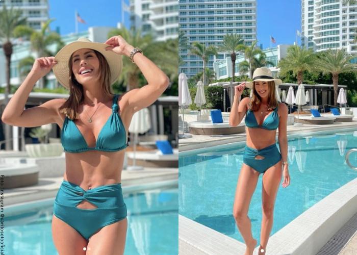 Foto de Carolina Soto en bikini