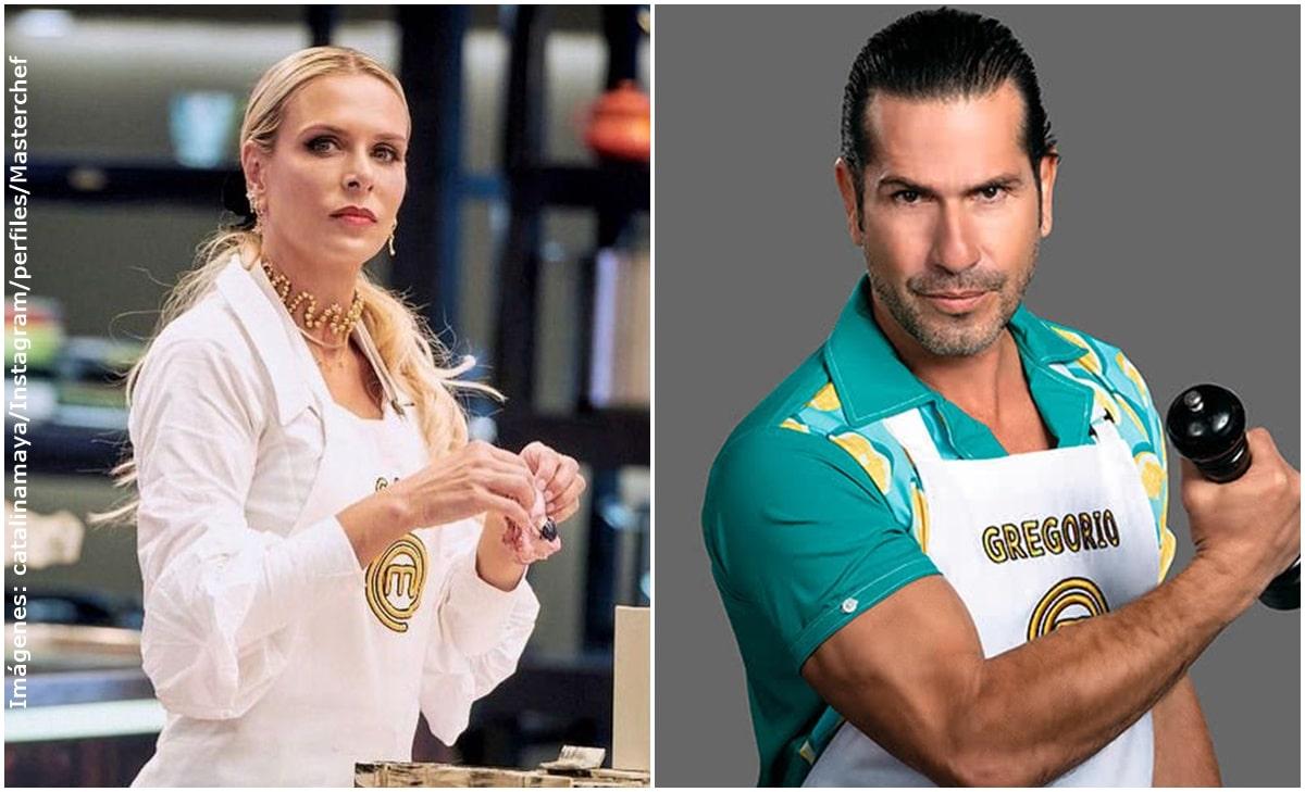 Catalina Maya insultó a Gregorio Pernía por reto en MasterChef