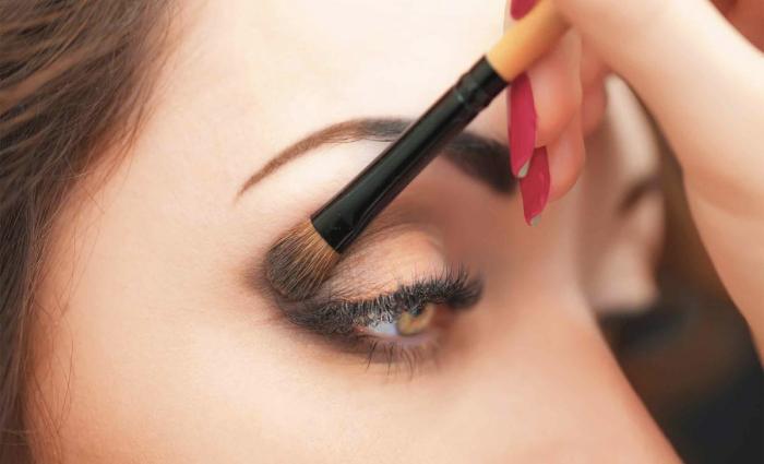 Foto de cómo maquillar los ojos
