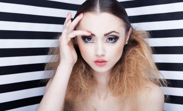 Foto de cómo maquillar diferentes tipos de ojos