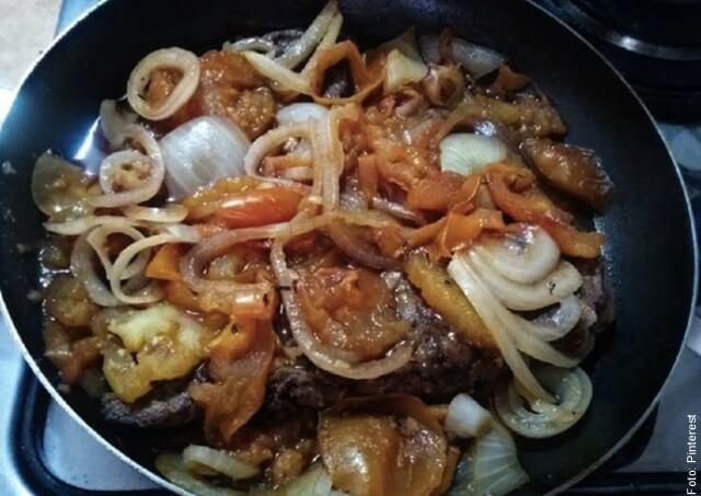 foto de cómo hacer carne en bistec