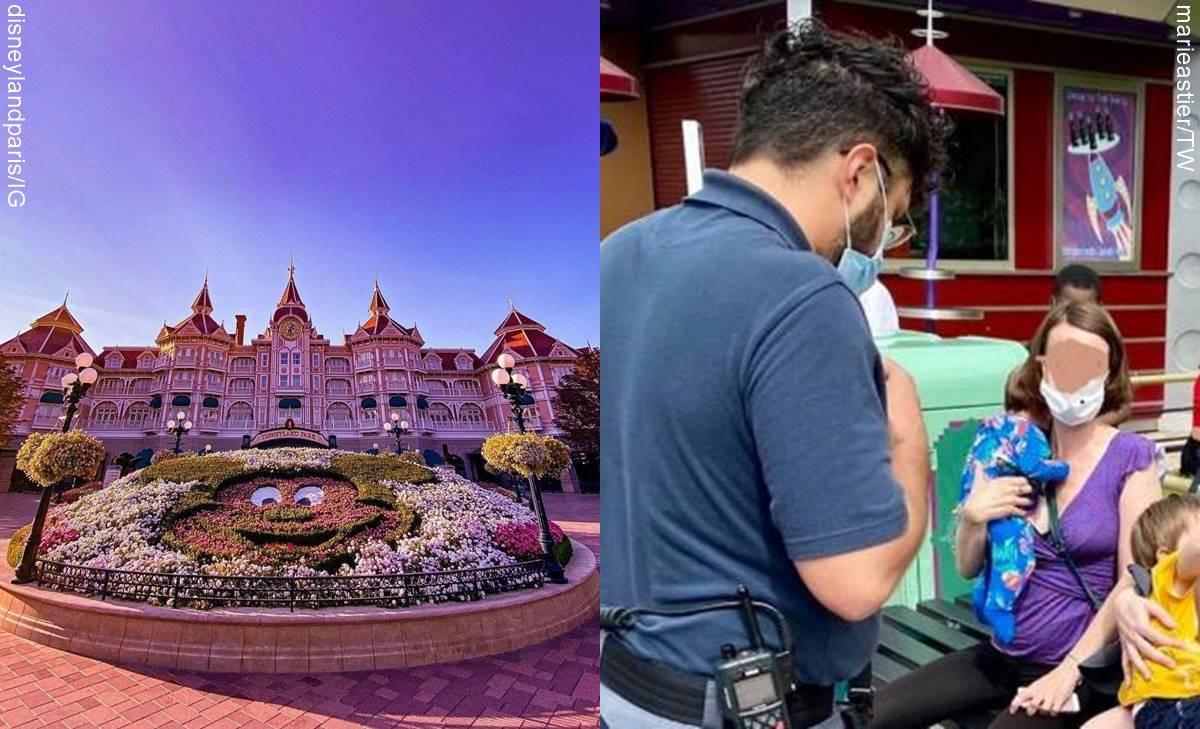 ¡El colmo! Disneyland París no permitió a madre amamantar a su bebé