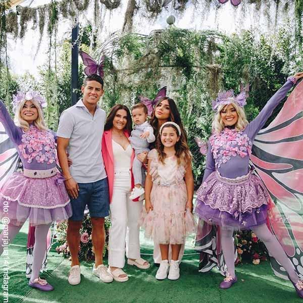 En el cumpleaños de James Rodríguez, su mamá reveló fotos inéditas
