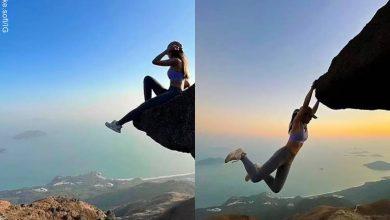Esta influenciadora perdió la vida por selfie en una cascada