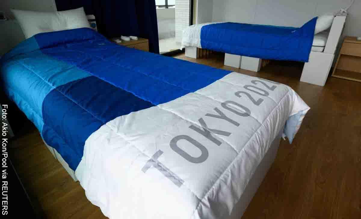 Estrenarán camas antiintimidad en Los Olímpicos de Tokio