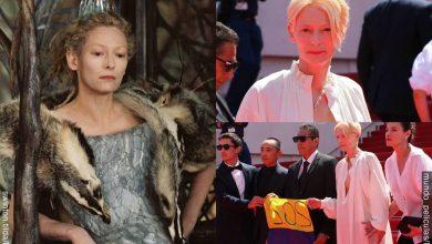 Famosa actriz Tilda Swinton pide SOS por Colombia en Festival de Cannes
