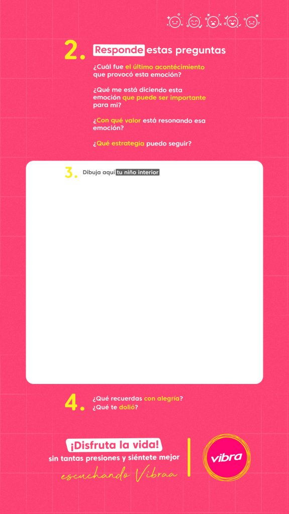 Imagen de la herramienta del dibujo para el taller para sentirte mejor