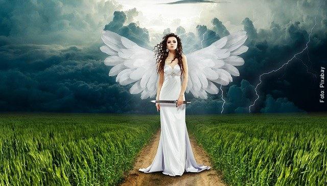 ilustración de un ángel