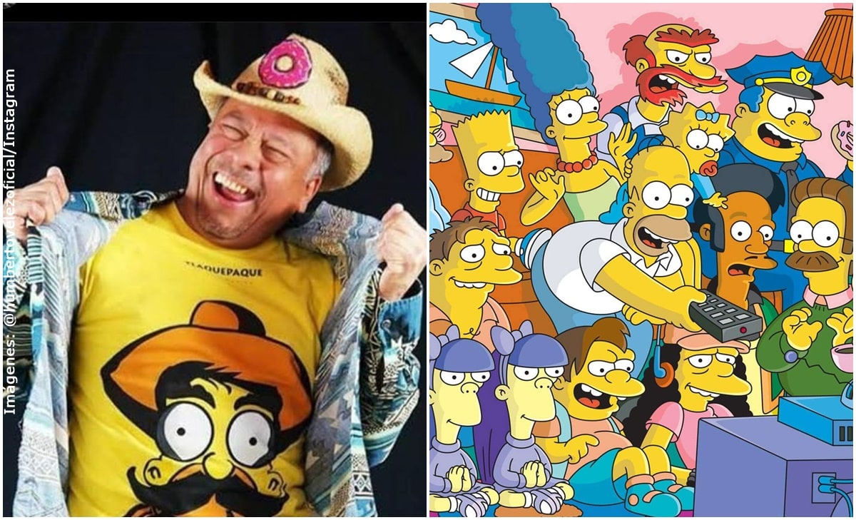 Humberto Vélez volvió a ser la voz de Homero Simpson en español
