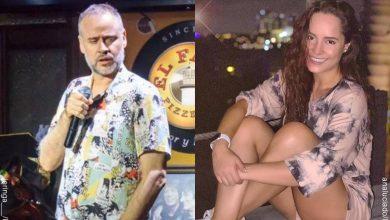Jeringa y Ana Lucía Domínguez niegan noviazgo cuando ella tenía 13 años
