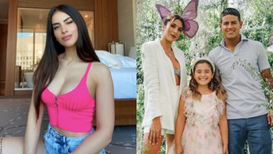 """La foto por la que dicen que Jessica Cediel y la hija de James son """"igualiticas"""""""