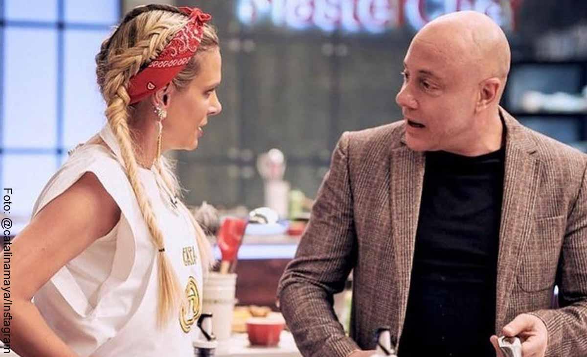 Jorge Rausch defendió a Catalina Maya de críticas por Masterchef