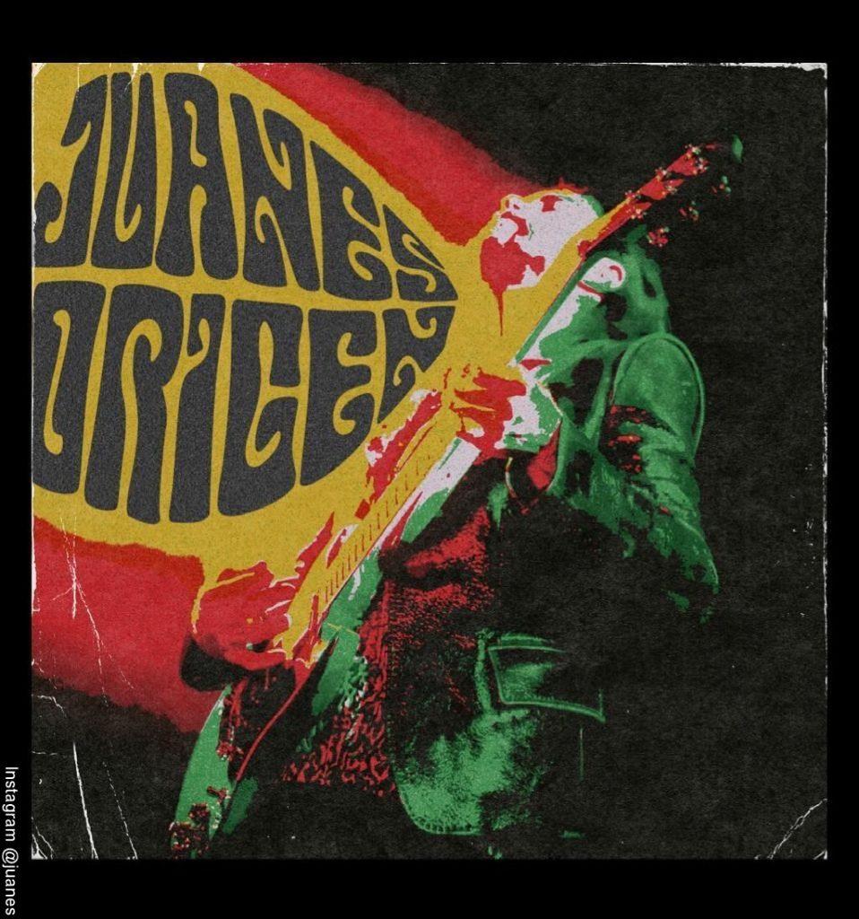 Cover del álbum Origen de Juanes
