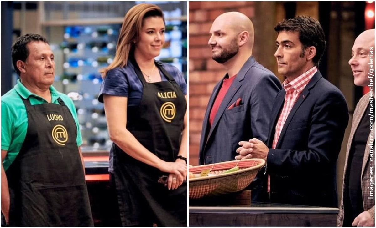 Jurados de MasterChef eliminaron a Lucho Díaz y Alicia Machado