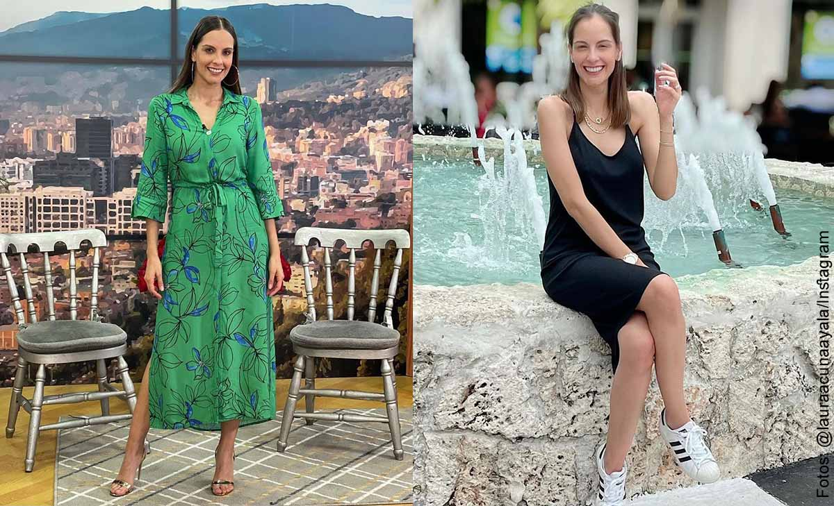 Laura Acuña sorprendió a sus fans posando en vestido de baño