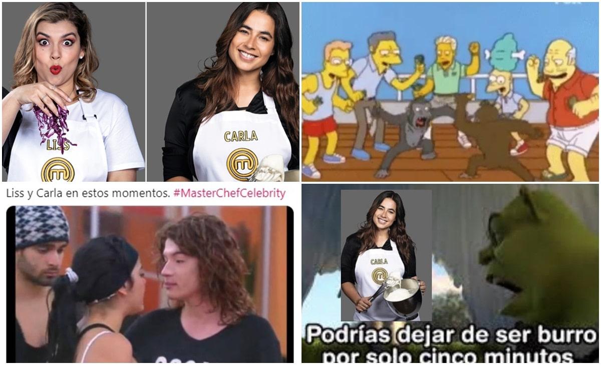 Lluvia de memes tras polémica pelea entre Carla Giraldo y Liss Pereira