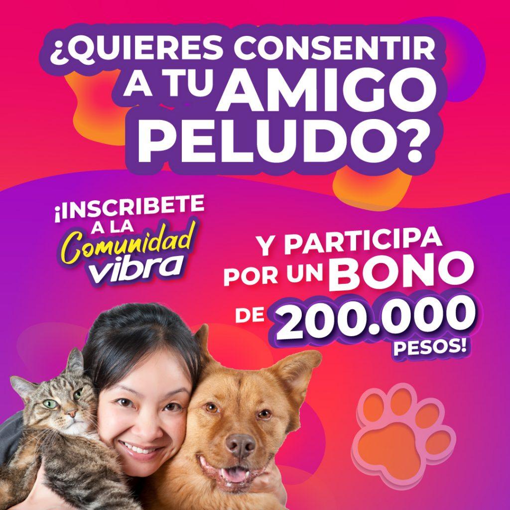 Imagen promocional del concurso Mes de las mascotas Vibra