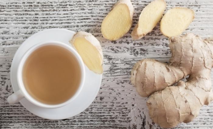 Foto de para qué sirve el té de jengibre