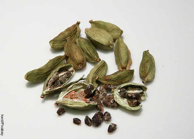 Foto de envolturas de semillas y especias