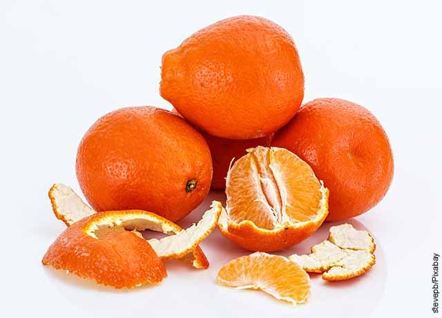 Foto de cáscaras de fruta