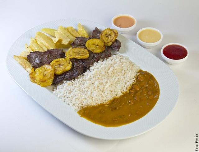 foto de plato colombiano