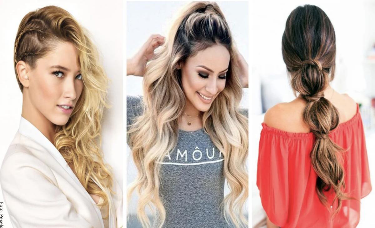 Peinados fáciles, ¡para verte hermosa y con mucho estilo!