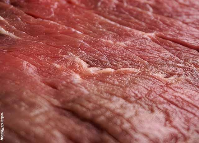Foto de carne de res en primer plano