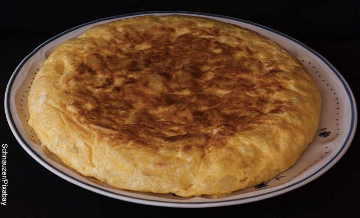 Foto de tortilla española