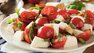 Recetas de ensaladas de verduras, ¡diferentes y deliciosas!