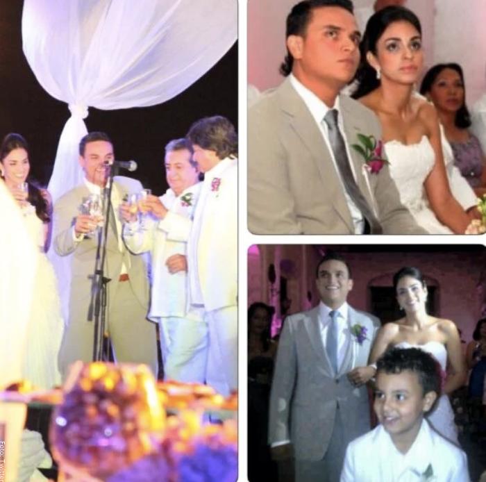 Foto del matrimonio de Silvestre Dangond