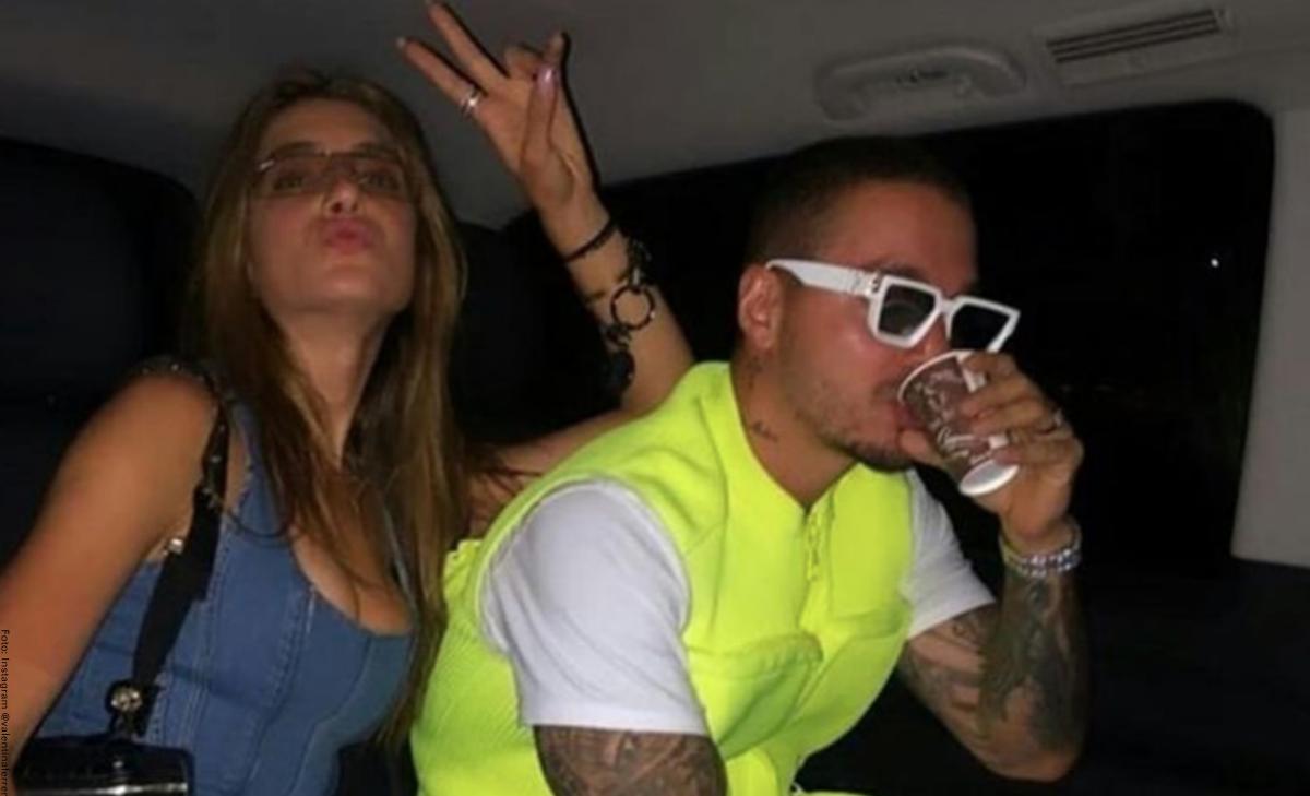Valentina Ferrer pareja de J Balvin presumió su figura luego de 9 días del parto