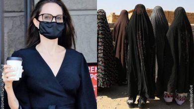 Angelina Jolie en Instagram compartió carta de adolescente afgana