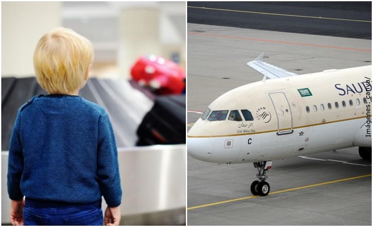 Avión aterrizó de emergencia porque una pasajera olvidó a su bebé