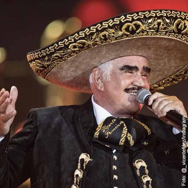 Complicado estado de salud de Vicente Fernández, ¡una foto suya generó preocupación!