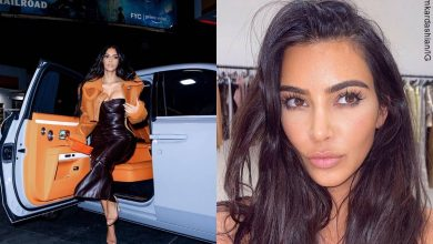El insólito outfit de Kim Kardashian con el que apoyó a su ex