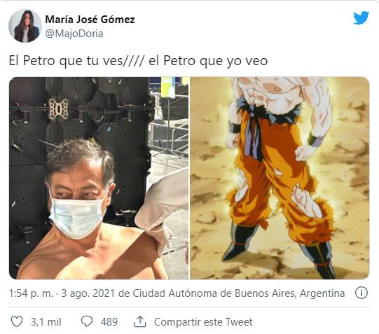 Meme de Petro