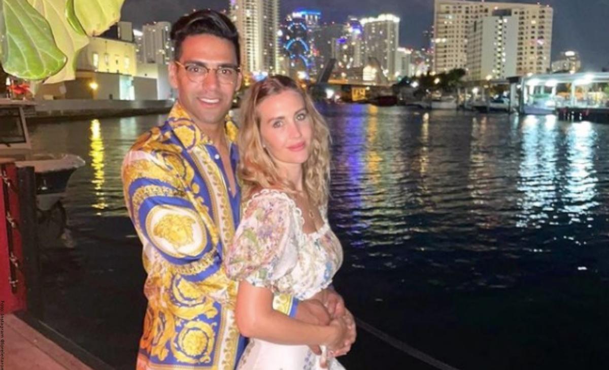 Esposa de Falcao García por primera vez habló de separación