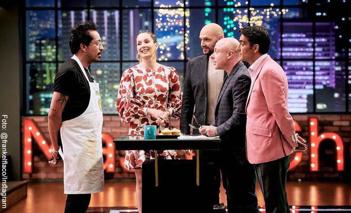 Frank Martínez confirmó que tomó clases privadas con un chef