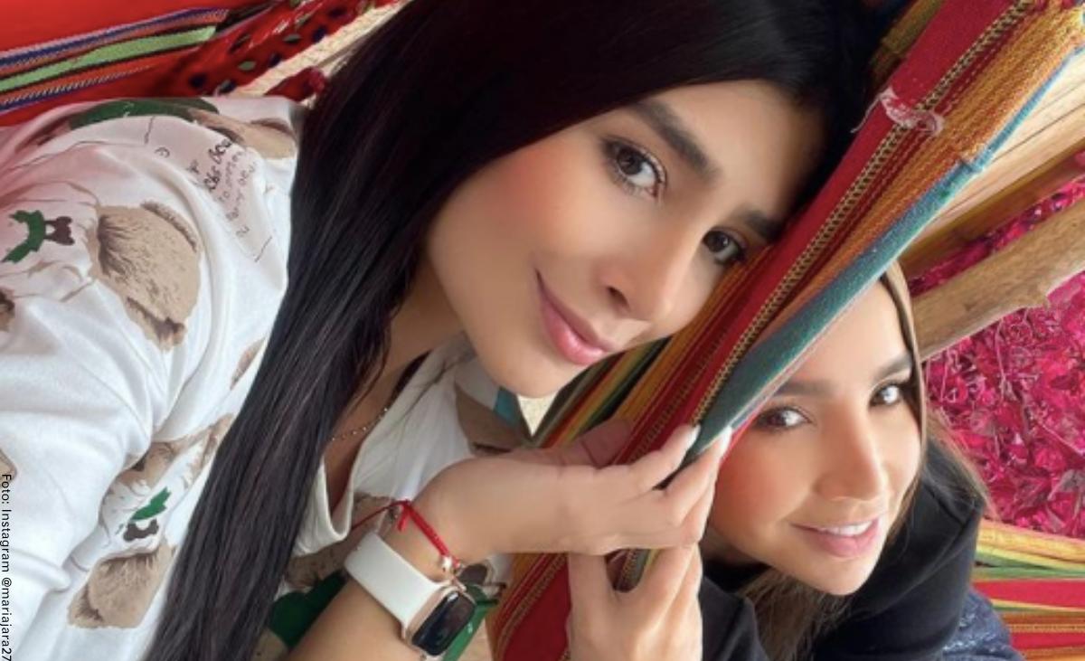Hermana de Paola Jara envió mensaje a su novio por el que recibió halagos